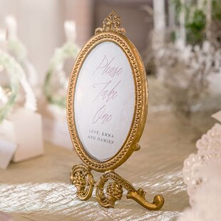 069f2711dd0 Small Oval Baroque Picture Frame