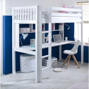 Robena European Single High Sleeper Bed by Norden Home