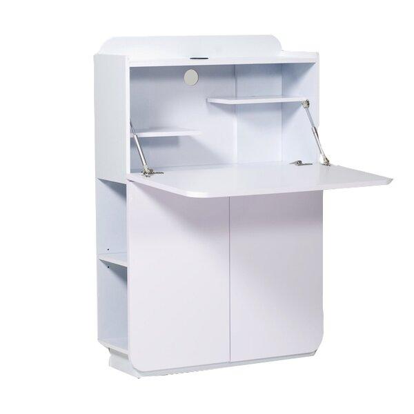 Office Furniture Secretary Desk White Wood Desk Organizer