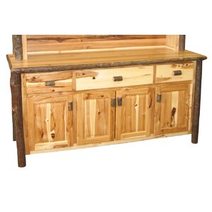 Hickory Sideboard by Fireside Lodge