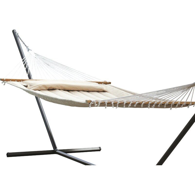 Beachcrest Home Maria Premium Poly Two Person Polyester Tree Hammock