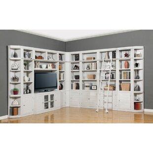 Veda Library Corner Unit Bookcase