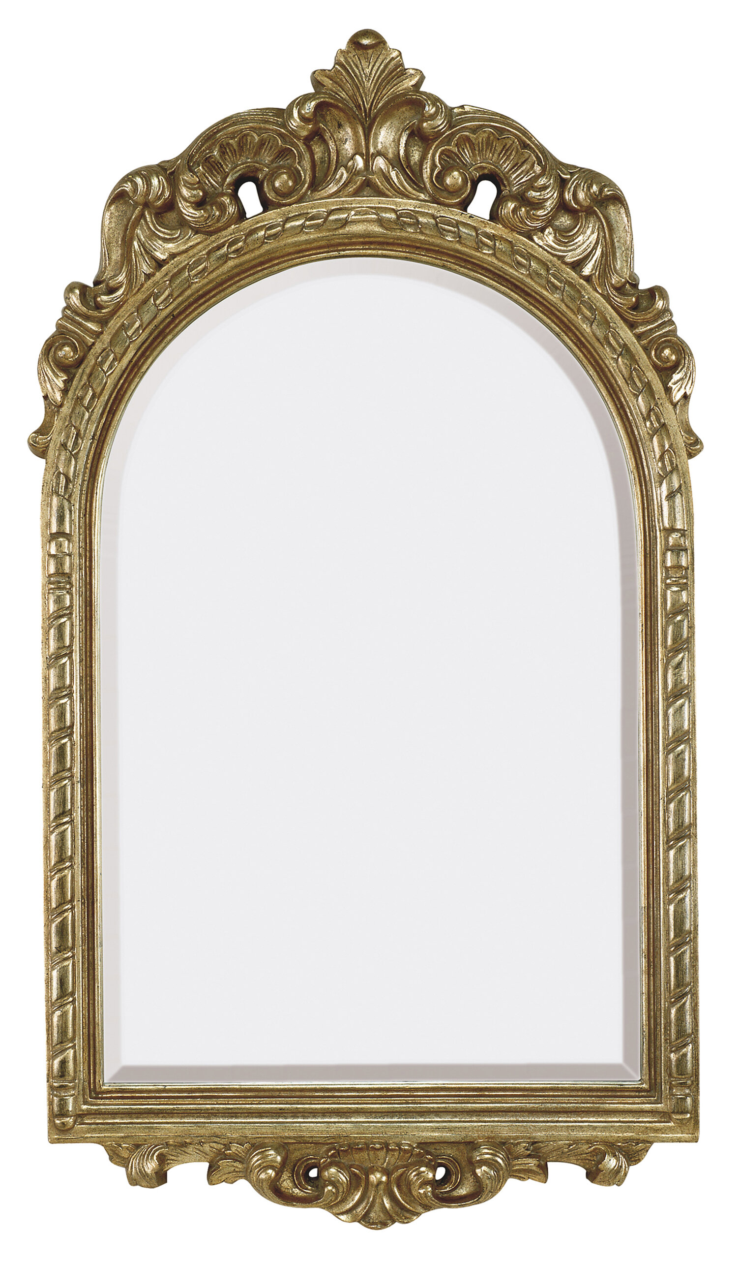 Majestic Mirror Traditional French Style Beveled Glass Wall Mirror ...
