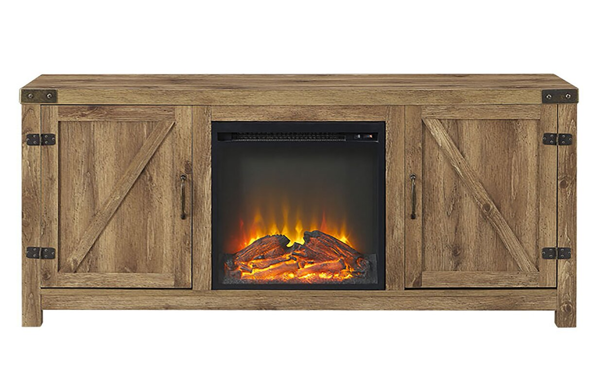 Adalberto 58 Tv Stand With Optional Fireplace Reviews Allmodern # Meuble Tv Ultimate