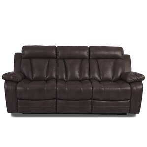 Heppner Traditional Reclining Sofa by Red Barrel Studio