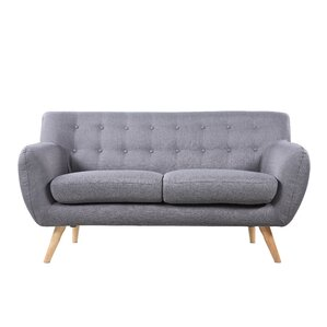 Cal Mid-Century Loveseat by Langley Street