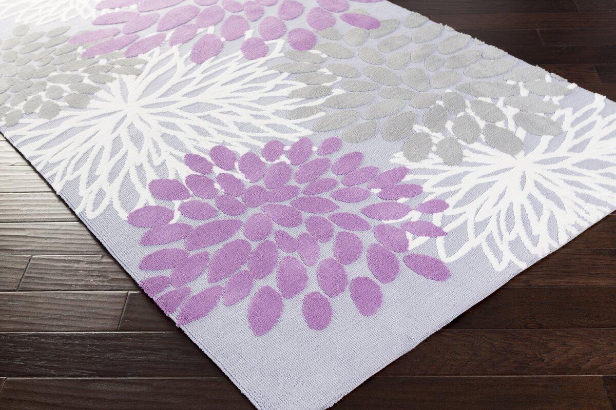 odele lavendergray area rug. ebern designs odele lavendergray area rug  reviews  wayfair