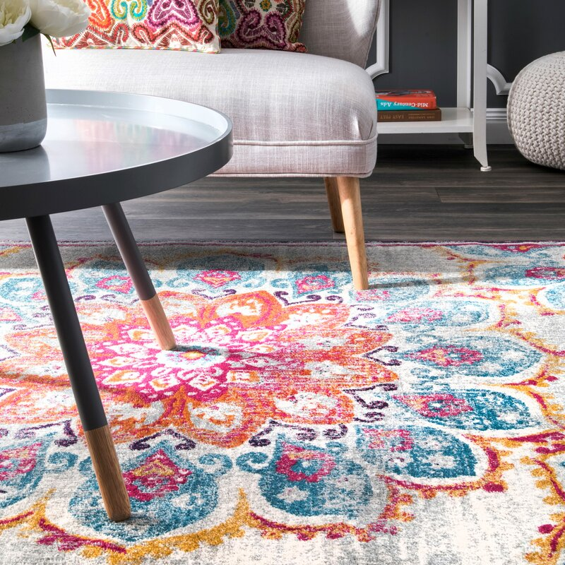 Viv + Rae Felicity Pink Area Rug & Reviews | Wayfair