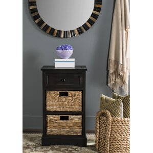 Edmonton Storage End Table by Beachcrest Home
