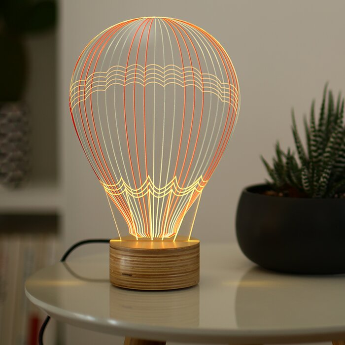 Hot Air Balloon 9 Table Lamp