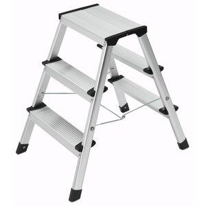 L 90 3 Step Aluminium Step Stool
