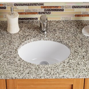 Save to Idea Board. MR Direct. Vitreous China Oval Undermount Bathroom Sink  ...