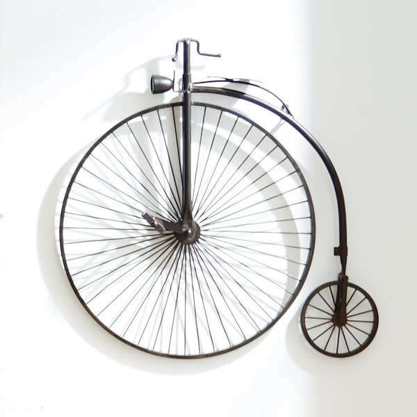 Metal Bicycle Wall Decor metal bicycle wall décor & reviews | allmodern