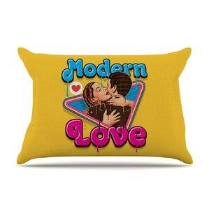 Roberlan 'Modern Retro Love' Neon Pillow Case