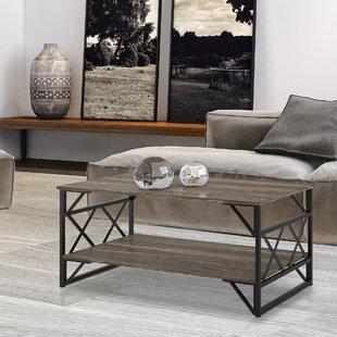 Industrial Coffee Tables You\'ll Love | Wayfair