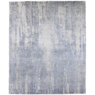 Compare Jevon Hand-Knotted Silk Dove Area Rug By 17 Stories
