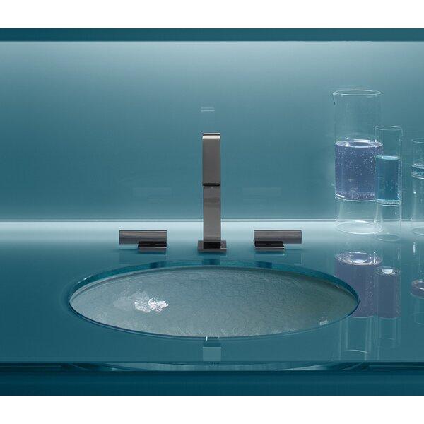 Kohler Artist Editions Whist Glass Oval Undermount Bathroom Sink U0026 Reviews  | Wayfair