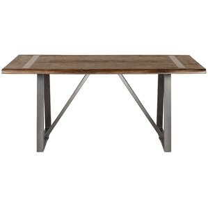 Malgorzata Industrial Live Edge Dining Table by Gracie Oaks