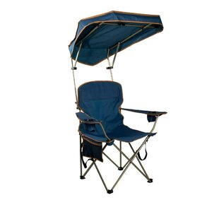 Angelette Quik Max Shade Folding C&ing Chair  sc 1 st  Wayfair : canopy lawn chairs - memphite.com