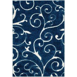 Alison Light Blue/Cream Area Rug