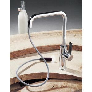 Maestro Bath Luz Single Handle Deck Mounted Kitchen Faucet with Pull Out Mono Shower