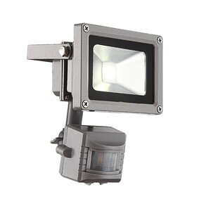 1 Head LED Outdoor Floodlight with Motion Sensor by House Additions