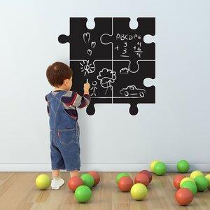 Chalkboard Puzzle Wall Sticker