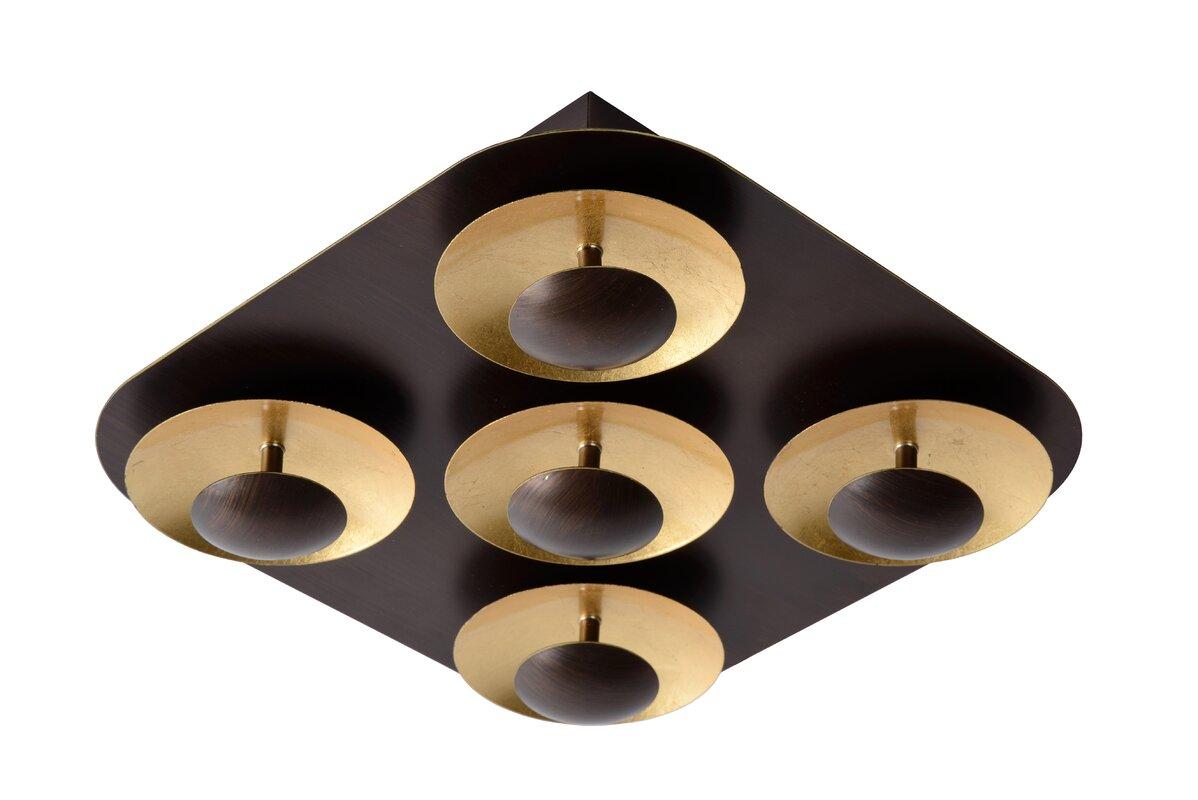 lucide led deckenleuchte 5 flammig amine bewertungen. Black Bedroom Furniture Sets. Home Design Ideas