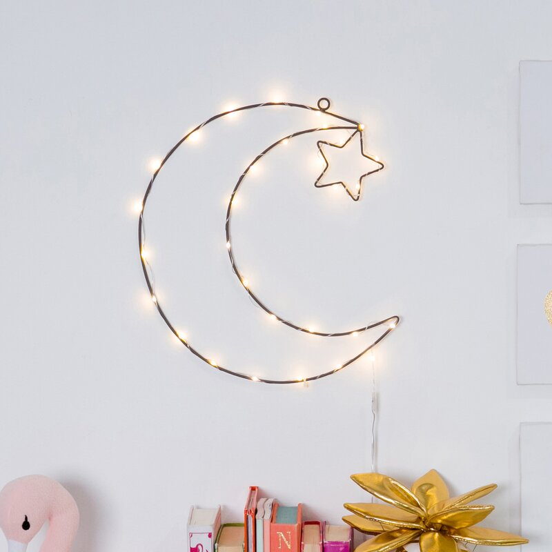 Twinkle Moon Night Light