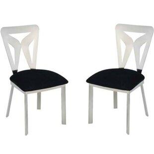 Leisha Metal Dining Chair (Set of 2)