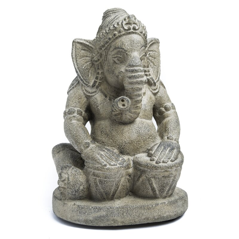 Asian Antiques Other Asian Antiques Realistic Statua Ganesh Grande Perfect Details