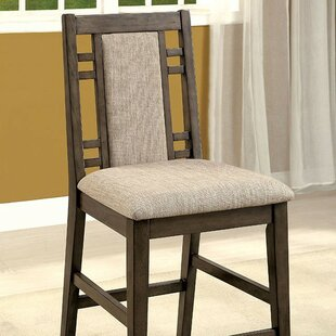 Tomaso Counter Height Upholstered Dining Chair (Set of 2)