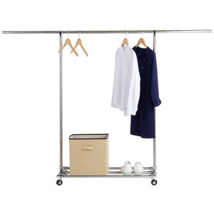 74.8 W Commercial Grade Collapsible Garment Rack