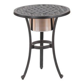 Lehmann Round Ice Bucket Bistro Table