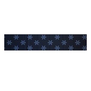 Flurries Decorative Holiday Print Table Runner