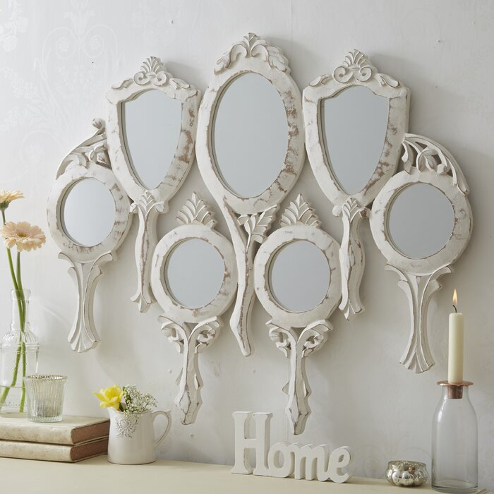 Outstanding Nadkar 7 Piece Hand Held Wall Mirror Set Home Interior And Landscaping Ologienasavecom