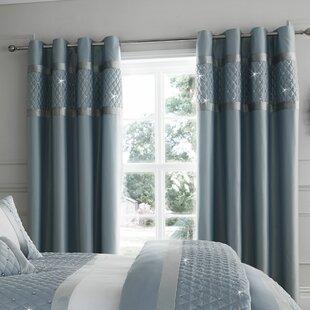 Vorhang Grau Muster gardinen & vorhänge: muster - geometrisch zum verlieben | wayfair.de