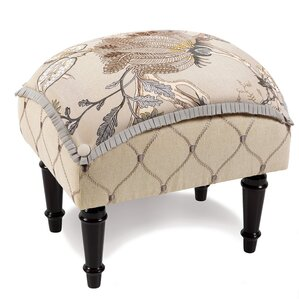 Edith Pillow Top Ottoman by Eastern Accents