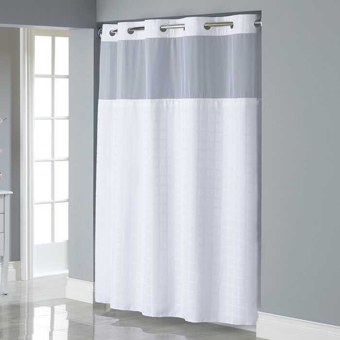 Hookless Jacquard Shower Curtain Reviews