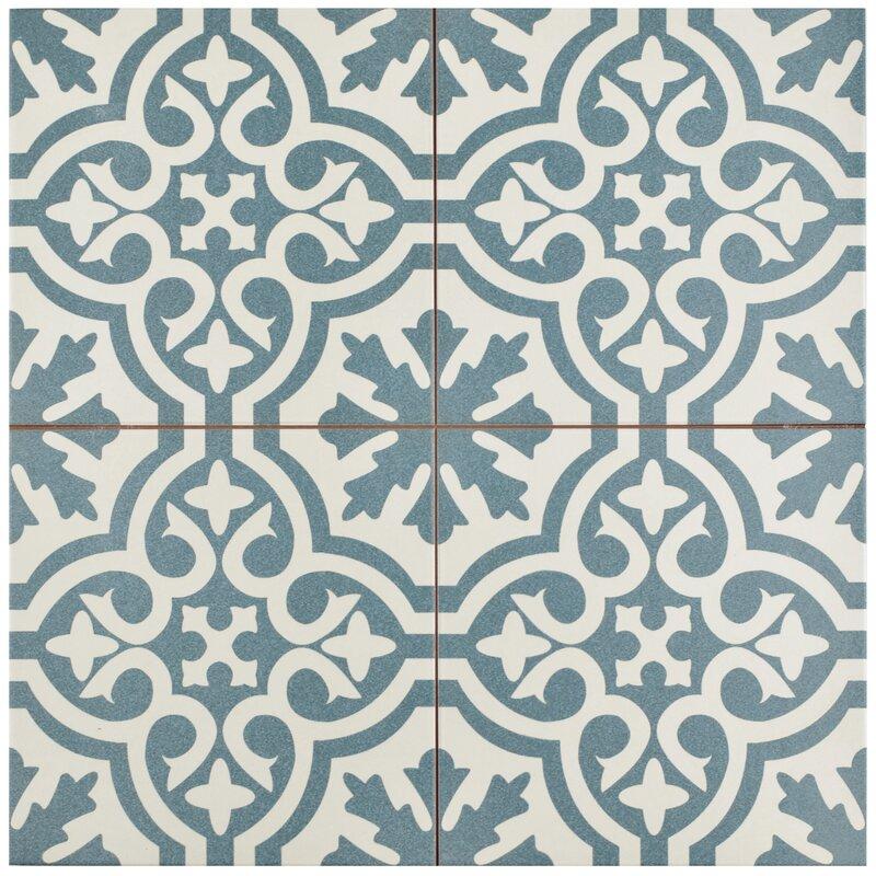 Elitetile Alameda 17 63 Quot X 17 63 Quot Ceramic Field Tile In
