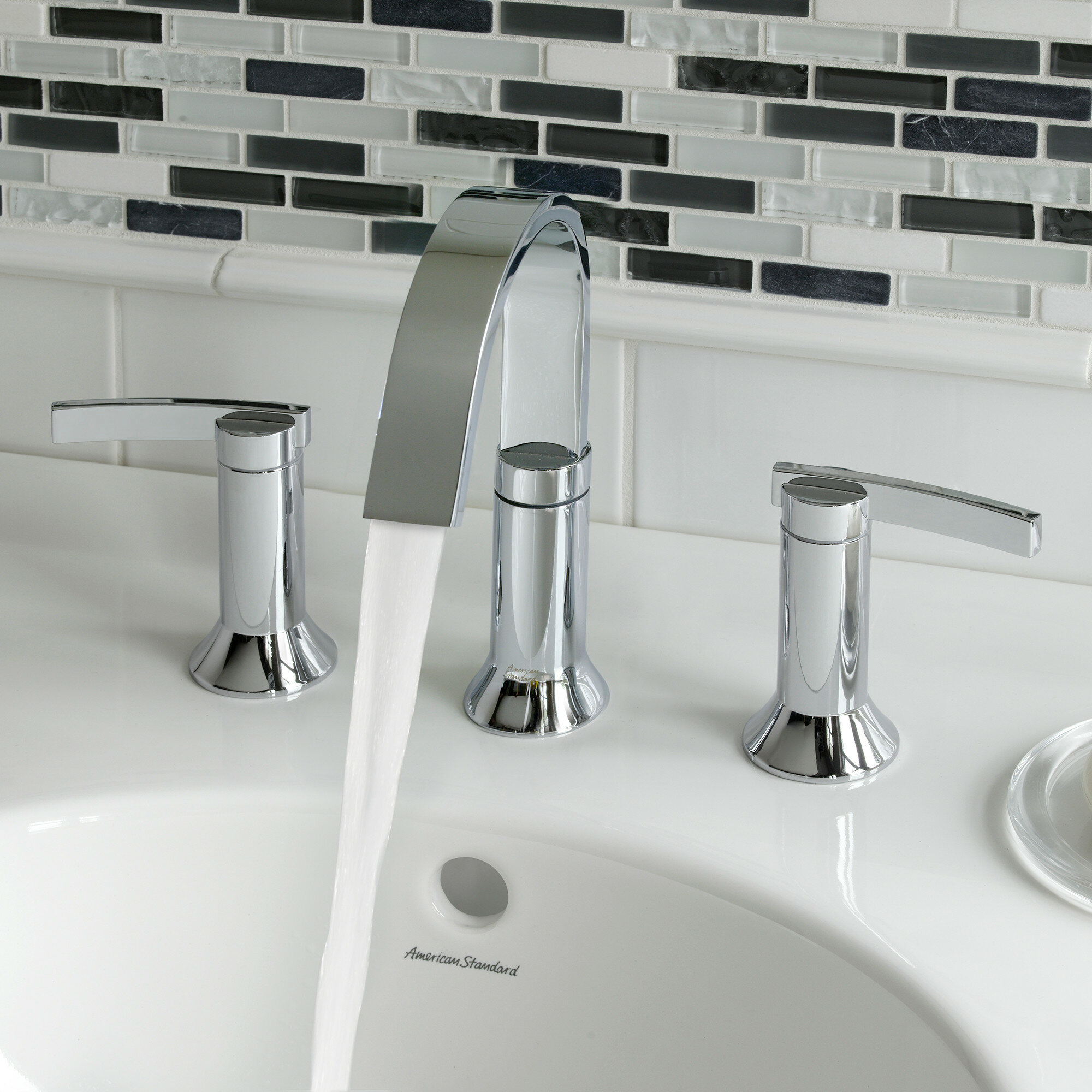 bathroom faucet depot fountain home moen waterfall faucets sink for widespread lowes the