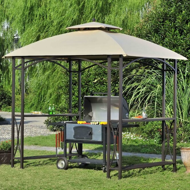 Replacement Canopy for Sheridan Grill Gazebo & Sunjoy Replacement Canopy for Sheridan Grill Gazebo u0026 Reviews ...