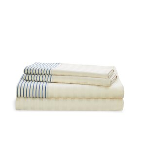 Josephina Stripe 212 Thread Count 100% Cotton Sheet Set