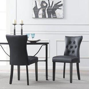 Black Velvet Tufted Chair | Wayfair