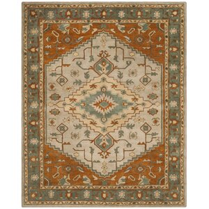 Cranmore Hand-Tufted Gray/Beige Area Rug