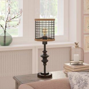 Rustic table lamps youll love wayfair ferdinand 20 table lamp aloadofball Choice Image
