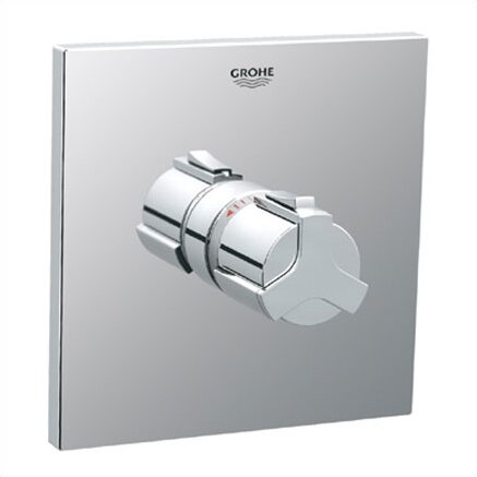 Grohe Allure Thermostatic Shower Faucet Trim with Grip Handle ...