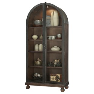 Braham Lighted Curio Cabinet