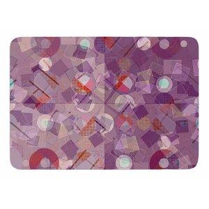 Mess by Cvetelina Todorova Memory Foam Bath Mat