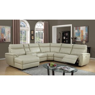 nhan power gel leather reclining sectional - Leather Sectional Couch With Recliner